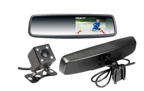 4.3″ Car Rear View Mirror Monitor