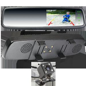 4-3-clip-over-mirror-Colour-LCD-Screen