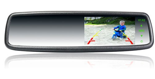 4.3 inch Car Rear View Mirror Monitor-02