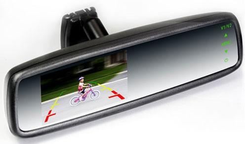 4.3 inch Car Rear View Mirror Monitor-03