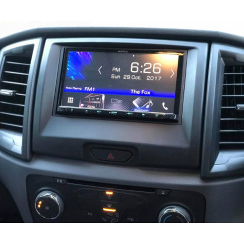Ford px2 ranger Onsite Car Audio Installation