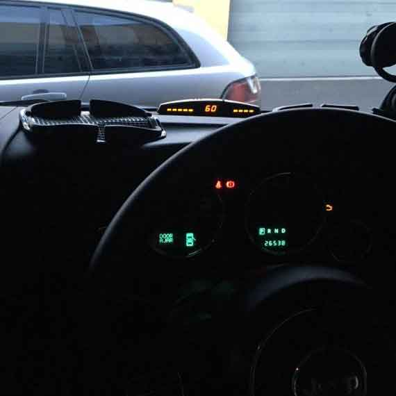 Front Parking Sensor Kit With Display