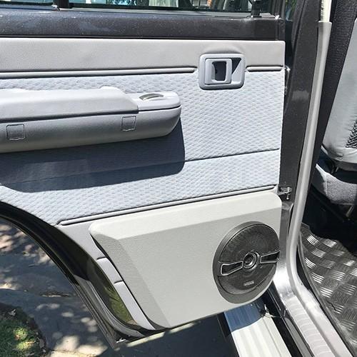 Toyota Landcruiser 70 Series Onsite Car Audio Installation