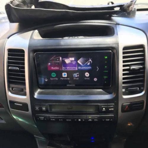 Toyota Landcruiser Prado Onsite Car Audio Installation