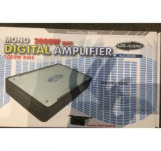 US Audio 2000W Digital Amplifier