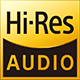 Hi resolution audio