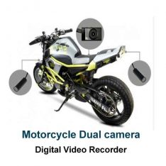 Motorcycle Dual Camera DVR