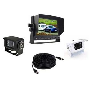 "PPA 7"" Dash Mount Reversing 2 Camera System"