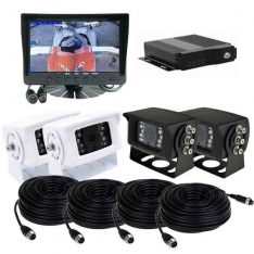 7inch Dash Mount MDVR Reversing 4 Camera System