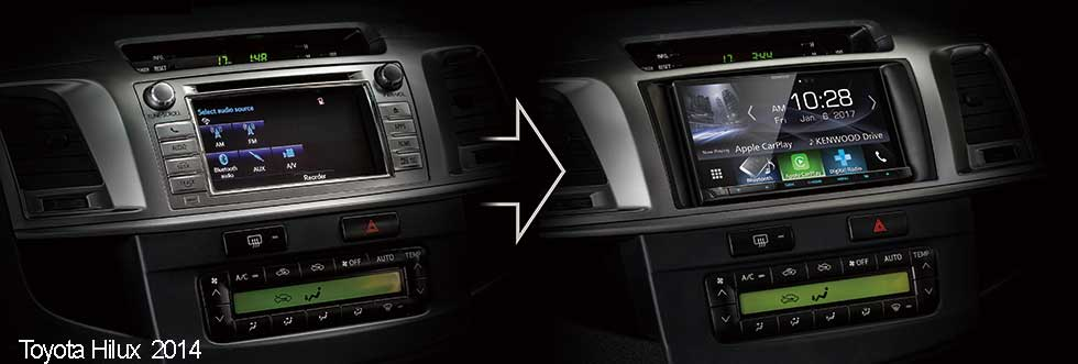Toyota hilux 2014 head unit   How to install a 2012 Toyota Hilux
