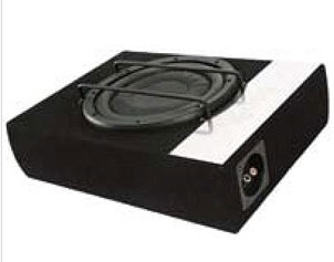 "10"" (254mm) Slim line Loaded Subwoofer Box ideal for Utes"