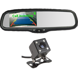 4.3″ Car Bluetooth Rear View Mirror Monitor With Reverse Camera
