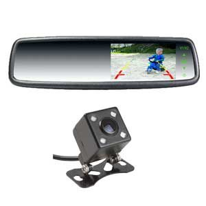 4.3″ Car Rear View Mirror Monitor