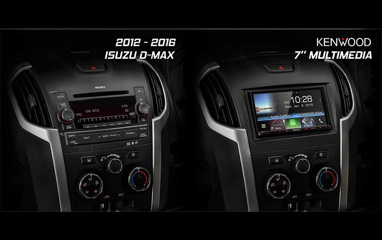 Isuzu-D-Max-Kenwood-7-Inches-Multimedia