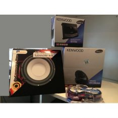 Kenwood KFC-MW3000 Subwoofer Complete Package