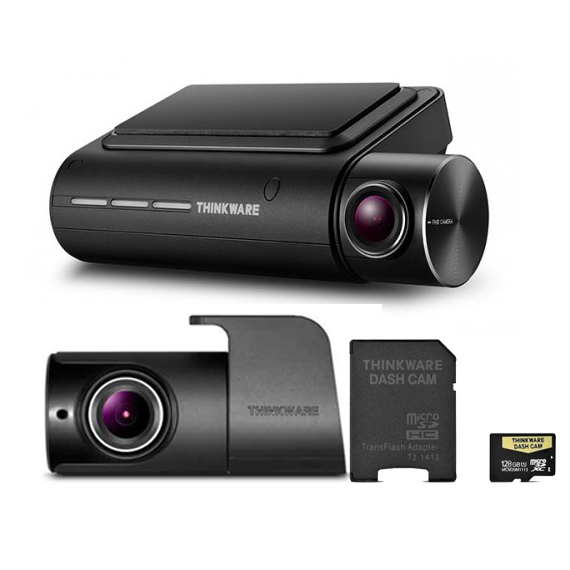 THINKWARE F800PRO DASH CAM SET 128GB – FRONT & REAR