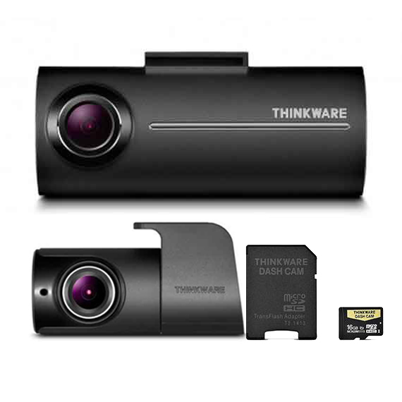 Thinkware Dash Camera Set F100 16GB – Front & Rear