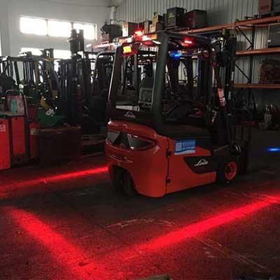 Forklift Led Red Zone Danger Warning Light Ppa Car Audio