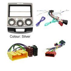 Ford-Ranger-2006-2011-PJ,-PK-Head-Unit-Installation-Kit-silver