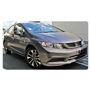 Honda Civic 2012 Sedan Car Stereo Upgrade