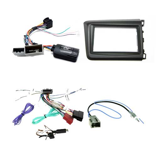 Honda       Civic    20122015 Sedan    Head       Unit    Installation Kit