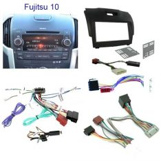 Isuzu D-Max 2012-2017-Fujitsu 10 Factory Stereo Head Unit Installation Kit