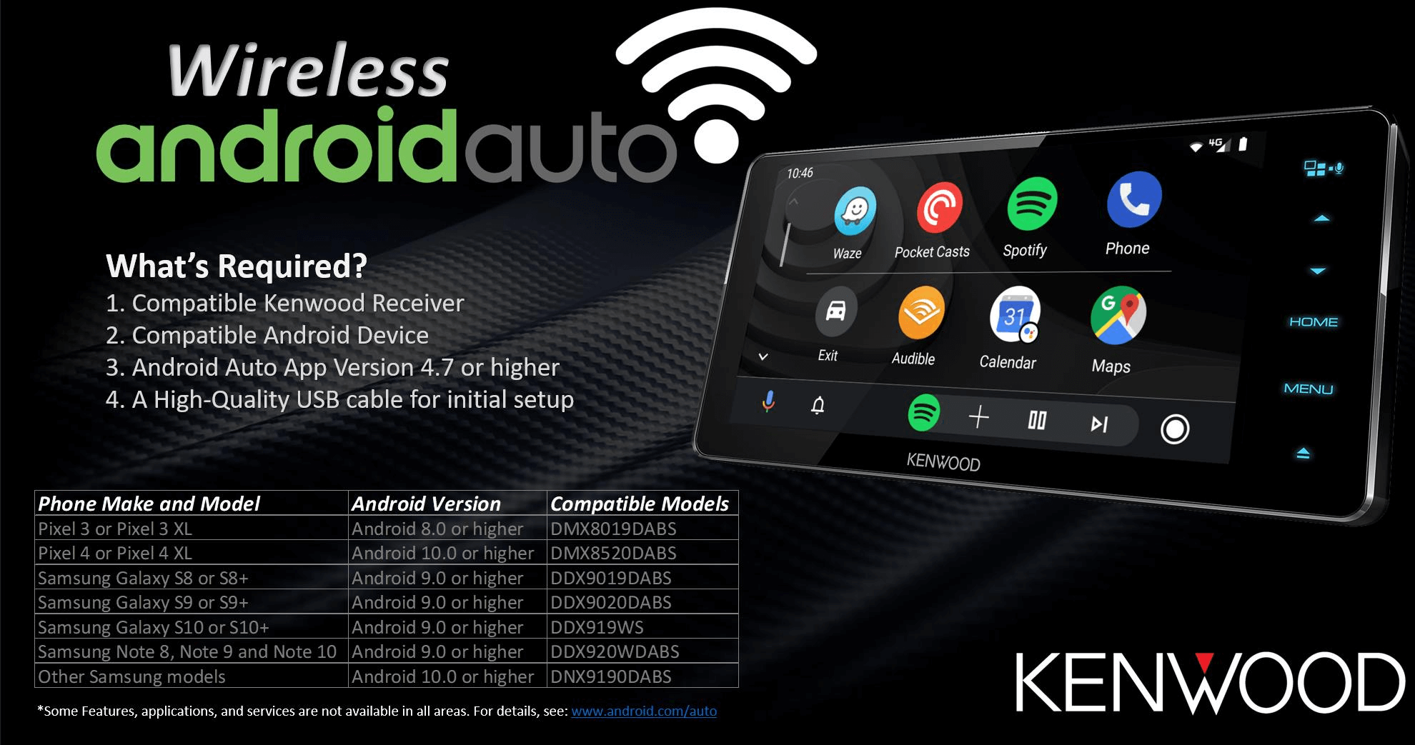Kenwood wireless androidauto