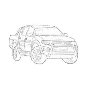Mitsubishi Triton 2009 - 2014 MN [GL] Car Stereo Upgrade