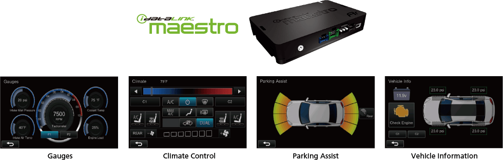 iDataLink Maestro – Advanced Vehicle Integration