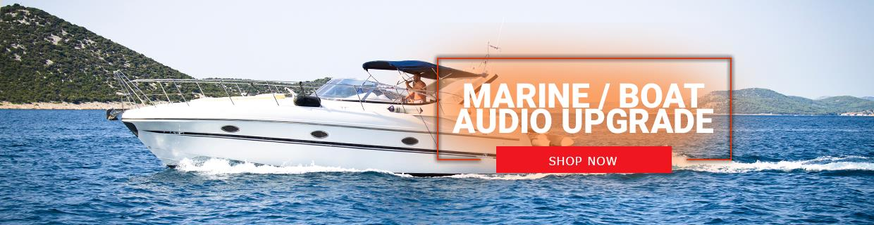 Marine Boat Audio Upgrade