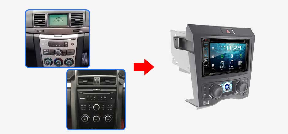 Holden Commodore 2006-2011 VE Car Stereo Upgrade - PPA Car Audio