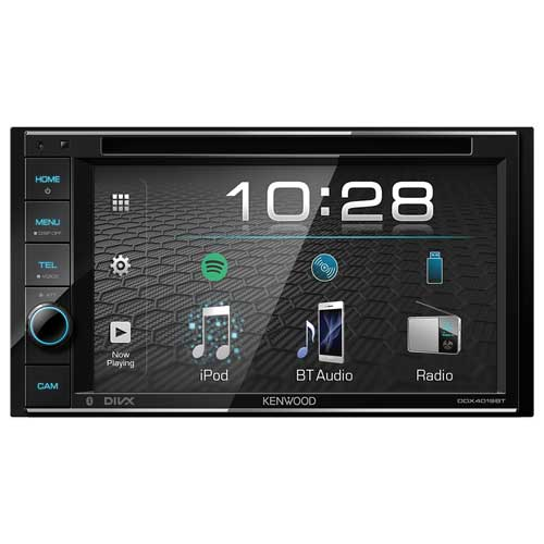 "Kenwood DDX4019BT 6.2"" WVGA DVD-Receiver with Bluetooth Built-in."