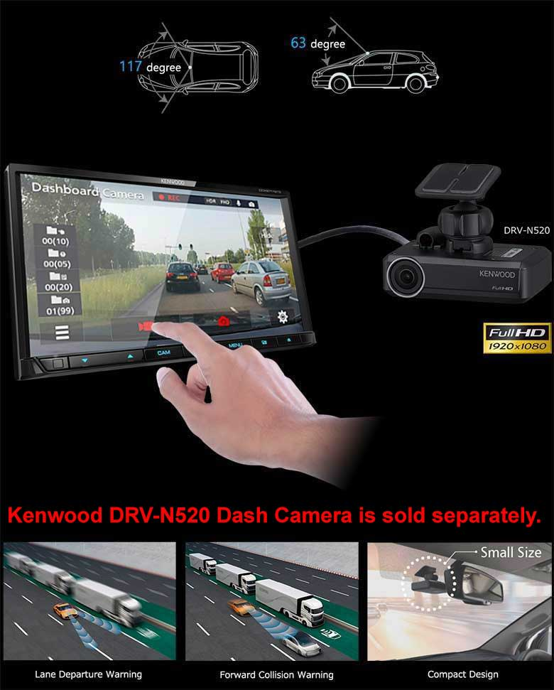 Dash-camera Linkage with DRV-N520