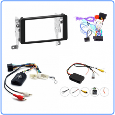 Mitsubishi Lancer 2013 to 2017 Head Unit Installation Kit