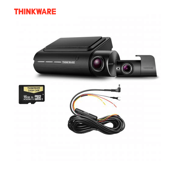 THINKWARE F800PD16 FRONT & REAR DASH CAM - 16GB