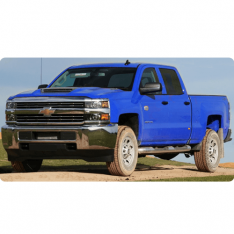 Chevrolet Silverado 2014 to 2019 With 7 Mylink Headunit (WT) Stereo Upgrade