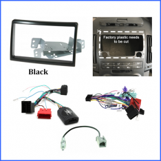 Hyundai i30 2007 to 2012 FD head unit install kit-Black
