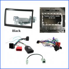 Hyundai i30 2007 to 2012 FD head unit install kit-Black