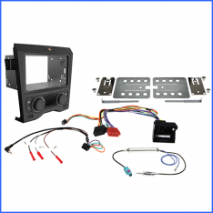 Install kit to suit Holden commodore ve series 1 dual zone climate control black