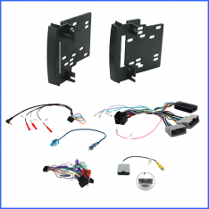 Jeep Grand Cherokee WH 2009 to 2011 head unit installation kit