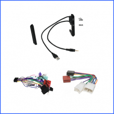 Toyota Avensis Verso (Ipsum) 2000-2009 head unit installation kit