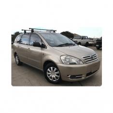 Toyota Avensis Verso (Ipsum) 2000 to 2009 stereo upgrade