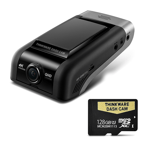 THINKWARE U1000 4K UHD FRONT DASH CAM -128GB Single Camera Kit