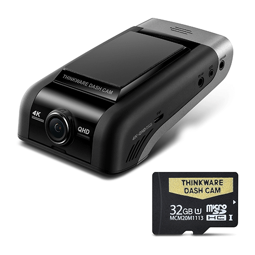 THINKWARE U1000 4K UHD FRONT DASH CAM - 32GB Single Camera Kit