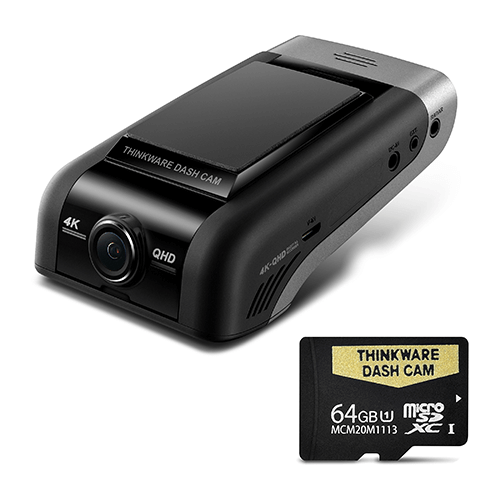 THINKWARE U1000 4K UHD FRONT DASH CAM - 64GB Single Camera Kit