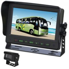 "Gator GT700SD 7"" Commercial Grade Dash Mount Display Reverse Camera Kit"