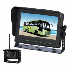 "Gator GT700W2 7"" Wireless Commercial Grade Dash Mount Reverse Camera Kit"