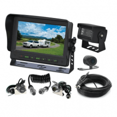 Gator GT70SDTK 7 inch Commercial Grade Dash Mount Display Dual Reverse Cam Kit
