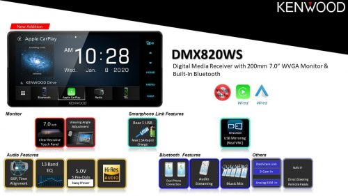 Kenwood DMX820WS (2020 NEW RANGE!)