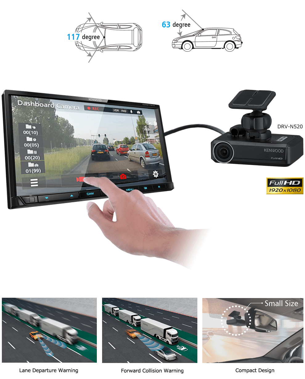 Dash Camera Linkage with DRV-N520